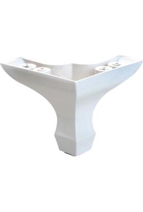 Eryıldız Lükenz Ayak Mini Beyaz 8 Cm