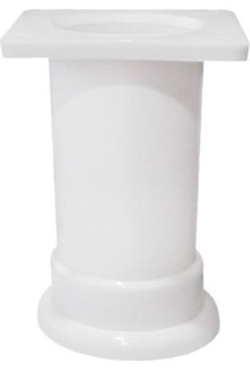 Eryıldız Stil Beyaz 5 Cm Baza Ayağı