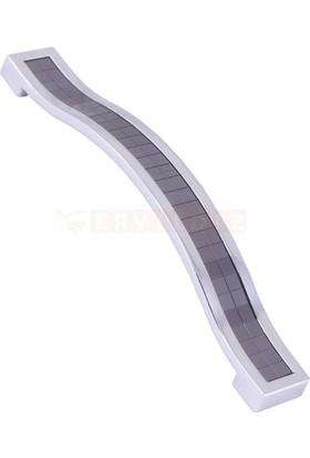Metax Beta 128 mm Krom Füme Mobilya Kulp