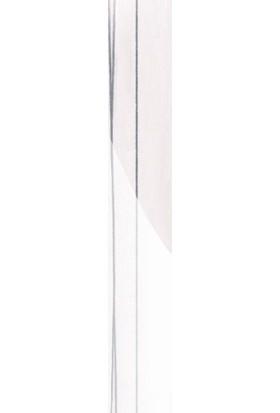 Roma 1 x 22 4965 Beyaz Gümüş Çizgili Pvc