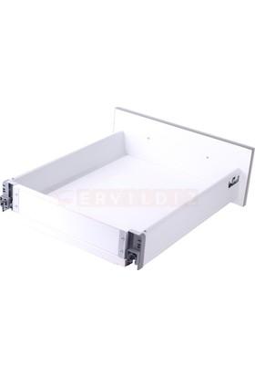 Samet Smart Box 40 Cm Bordürsüz Gri Çekmece Ray
