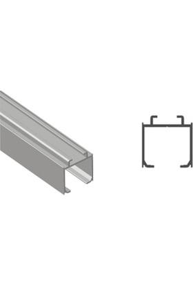 Yeniler Üst Ray Alüminyum Tekli 2 Metre