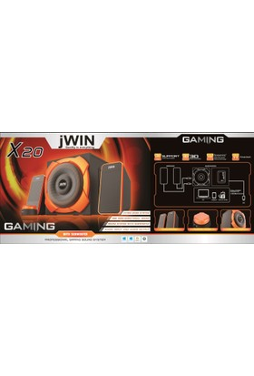Jwın X20 2.1 Gaming Speake