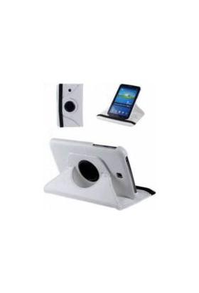 Miray Samsung Galaxy Tab A6 T280/285 360 Dönebilen Stand Kılıf Beyaz