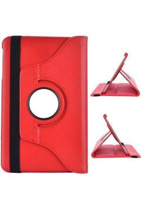 Miray Samsung Galaxy Tab A6 T280/285 360 Dönebilen Stand Kılıf Kırmızı