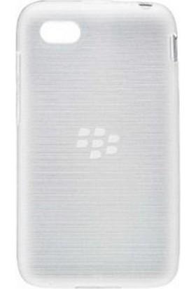 BlackBerry Q5 Soft Shell Kılıf Şeffaf