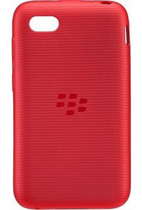BlackBerry Q5 Soft Shell Kılıf Kırmızı