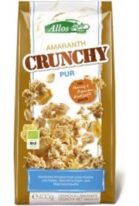 Allos Amaranth Crunchy Classic - Amarantlı Kıtır Atıştırmalıklar 400g