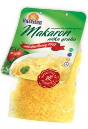 Balviten Makaron Nitka Gruba Düşük Proteinli Glutensiz İnce Spagetti
