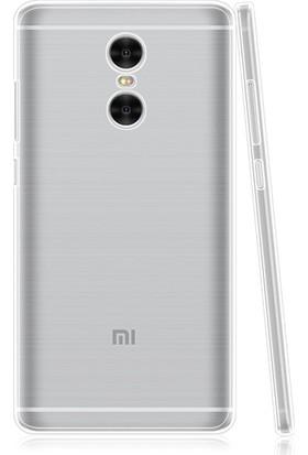 Case 4U Xiaomi Redmi Pro Kılıf Ultra İnce Silikon Şeffaf