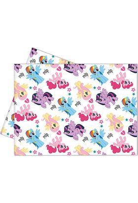 KullanAtMarket Rainbow Pony Plastik Masa Örtüsü 120X180Cm