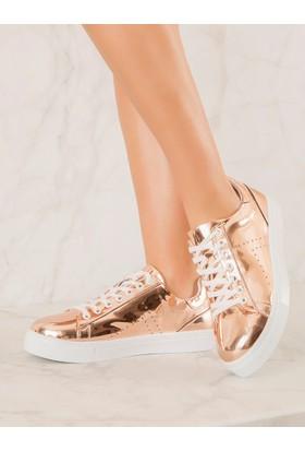 Mecrea Exclusive Gabby Rose Gold Spor Ayakkabı