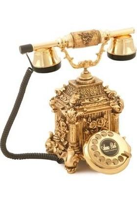 Anna Bell Dolmabahçe Altın Varaklı Telefon