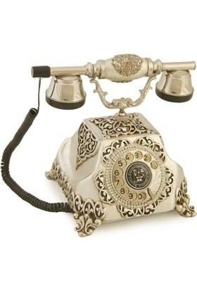 Anna Bell Şehrazat Antik Gümüş Varaklı Telefon