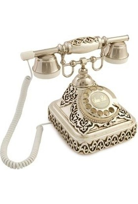 Anna Bell Ericsson Gümüş Varaklı Telefon