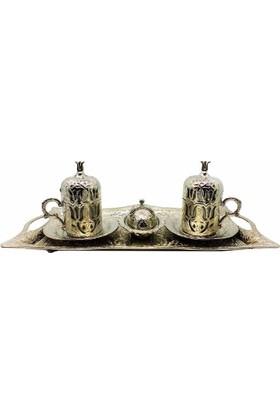 Myros Zamak 2'li Set Gümüş