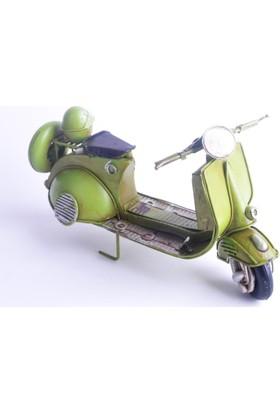 50Bir Nostaljik Metal Model Vespa Motosiklet 7227
