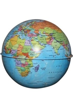 Gürbüz Yayınları Globe Bank Siyasi Küre 10 Cm
