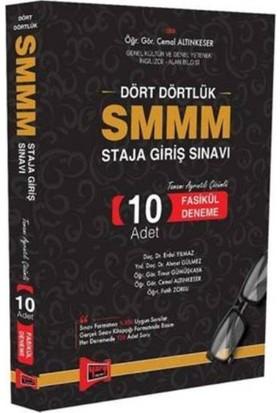 Yargı Yayınları Smmm Staja Griş Sınavı Tamamı Ayrıntılı Çözümlü 10 Adet Fasikül Deneme