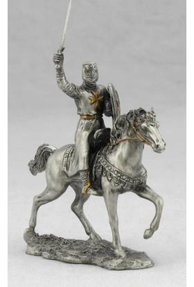 Hiper Wıse Ortaçağ Atlı Savaşçı