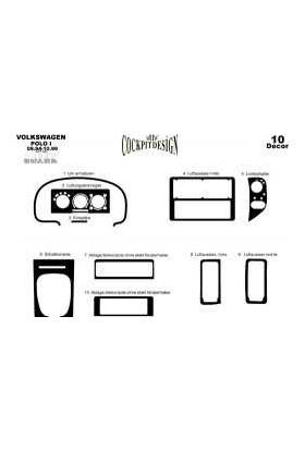 Volkswagen Polo 09.94-09.99 Arası Maun Kaplama