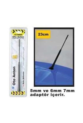 Automix Oto Anten 23 Cm 3 Vidalı