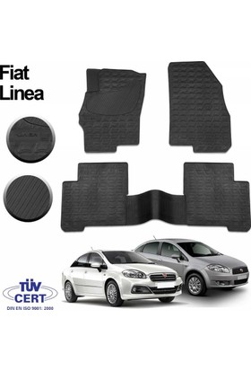 Fiat /Tofaş İmage Fiat Linea Oto Paspas Seti Siyah