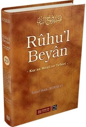Ruhu'l Beyan, Kur'An Meali Ve Tefsiri - 23 - İsmail Hakkı Bursevi