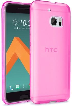 Case 4U HTC 10 Kılıf Ultra İnce Silikon Pembe