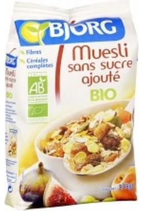 Bjorg Muesli Without Added Sugar 375 gr.-Organik Şeker eklenmemiş müsli