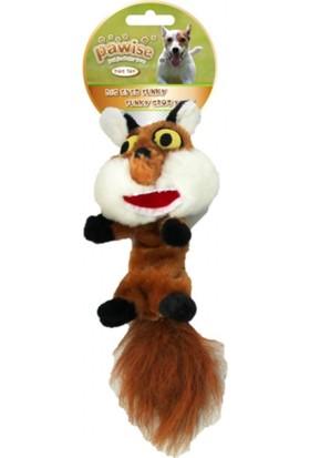 Pawise Big Eyes Fox-Büyük Göz Tilki Köpek Oyuncağı S-M