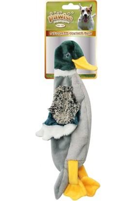 Pawise Stuffless Duck-Ördek Köpek Oyuncağı Large
