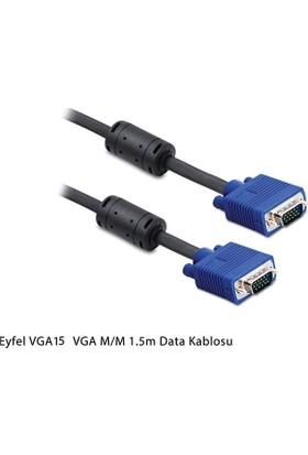 Eyfel Vga M M 1.5M Filtreli Data Kablosu Vga15