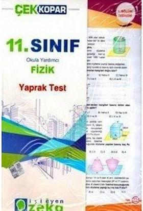 İşleyen Zeka 11. Sınıf Fizik Çek Kopart Yaprak Test