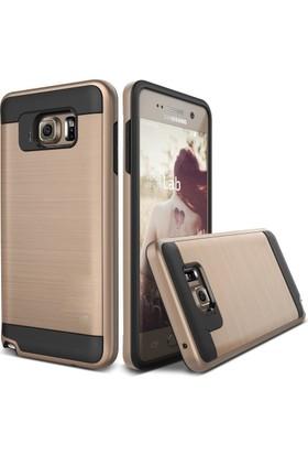 Case 4U Samsung Galaxy Note 5 Kılıf Slim Heavy Duty Altın