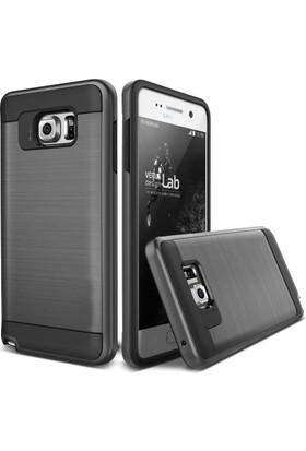 Case 4U Samsung Galaxy Note 5 Kılıf Slim Heavy Duty Siyah