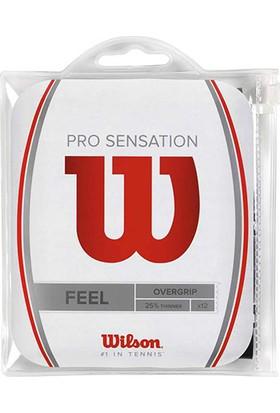 Wilson Pro Overgrip Sensation 12li WH ( WRZ4011WH )