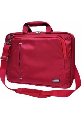 """Classone UL162 15,6"""" Uyumlu Ultracase Kırmızı Notebook Çantası"""