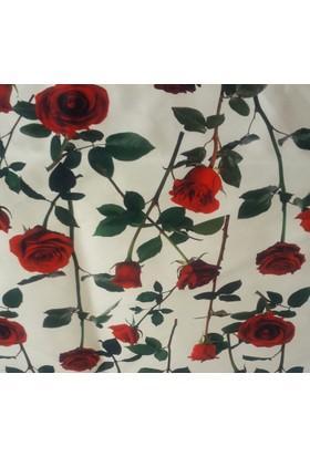 Mrs.Pillow Rose V1 Desenli Döşemelik Kumaş