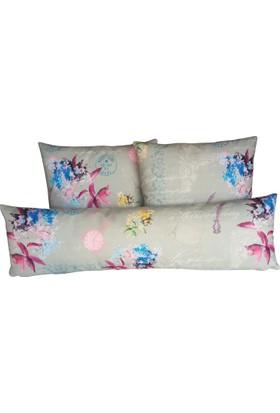 Mrs.Pillow Alice 3 Anneler Gününe Özel Kırlent(2 Kare,1 Bel)
