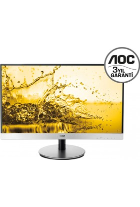 """AOC i2369Vm 23"""" 5ms (Analog+2xHDMI+MHL+DisplayPort) Full HD IPS Led Monitör"""