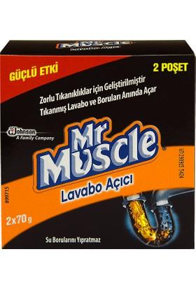 Mr Muscle granül Lavabo Açıcı 70 gr x 2 gr
