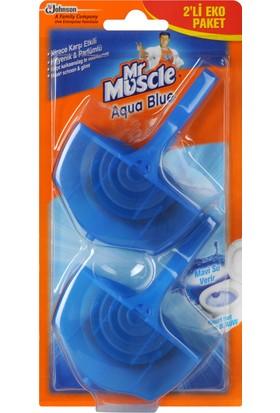 Mr Muscle Klozet Blok Aqua 2 li Eko Paket