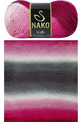Nako Vals Örgü İpliği 86082 - Flamingo