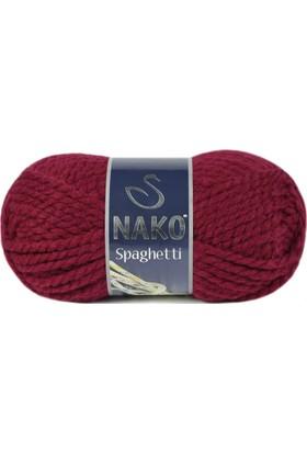 Nako Spaghetti Örgü İpliği 3630 - Şarap