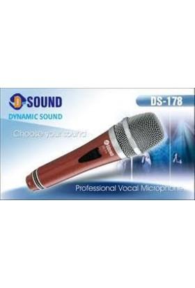 D-Sound Ds-178R Vokal Mikrofon