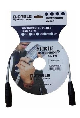 D-Cable Xx-Fm5 Mikrafon Kablosu