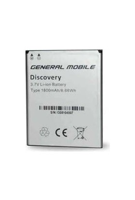 General Mobile Discovery (1800 Mah) Batarya