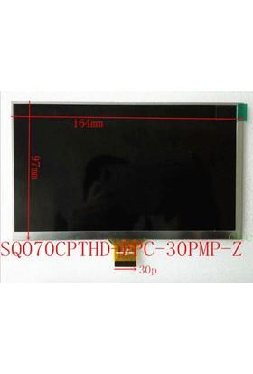 Hometech Quadtab 7İ 7 İnç Tablet Lcd İç Ekran