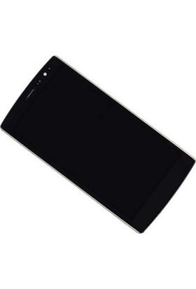 Lg G4C Mini (H525 Magna) Dokunmatik+Lcd Ekran(Çerçeveli)